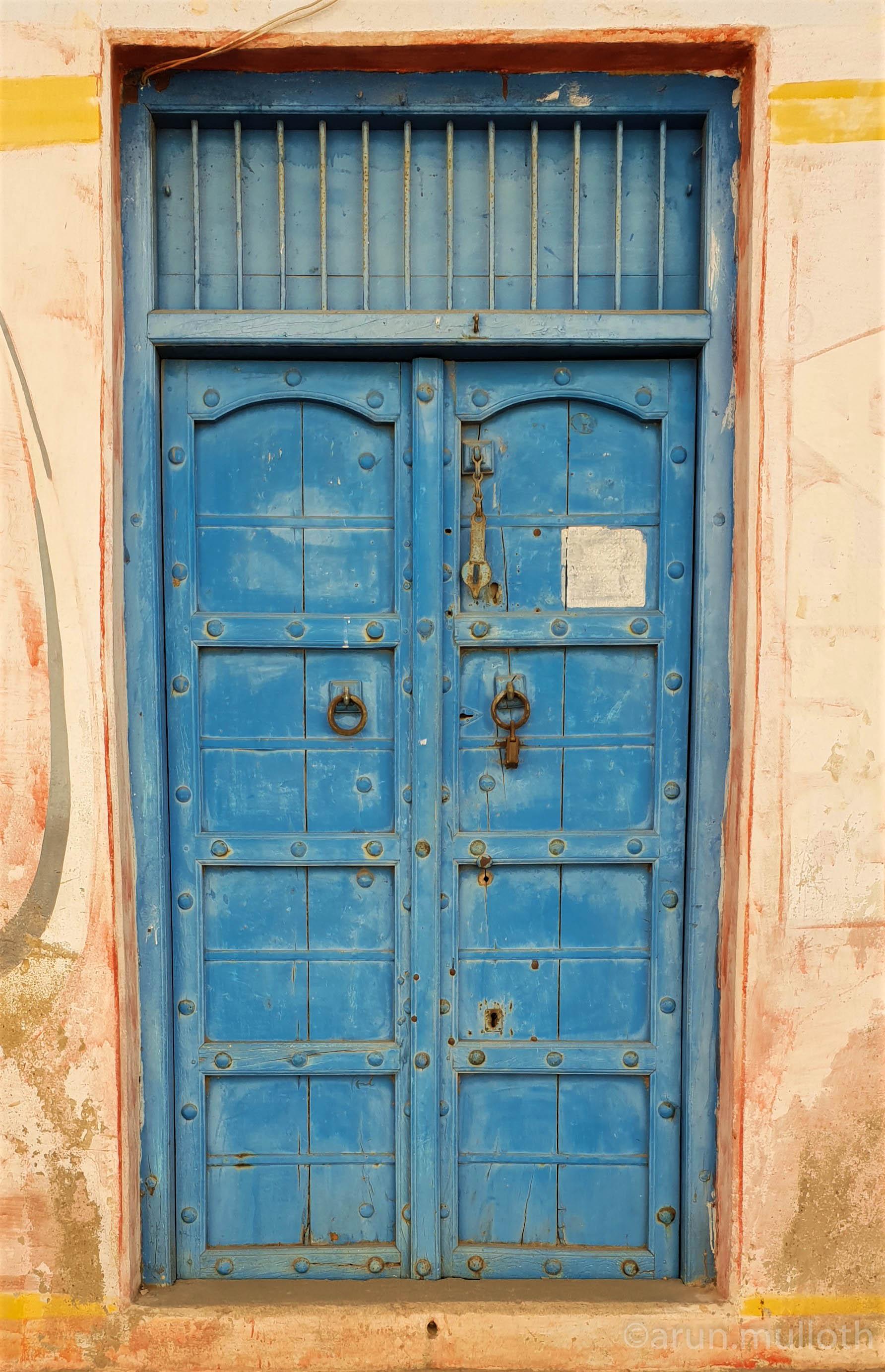 Blue door, Bhuj