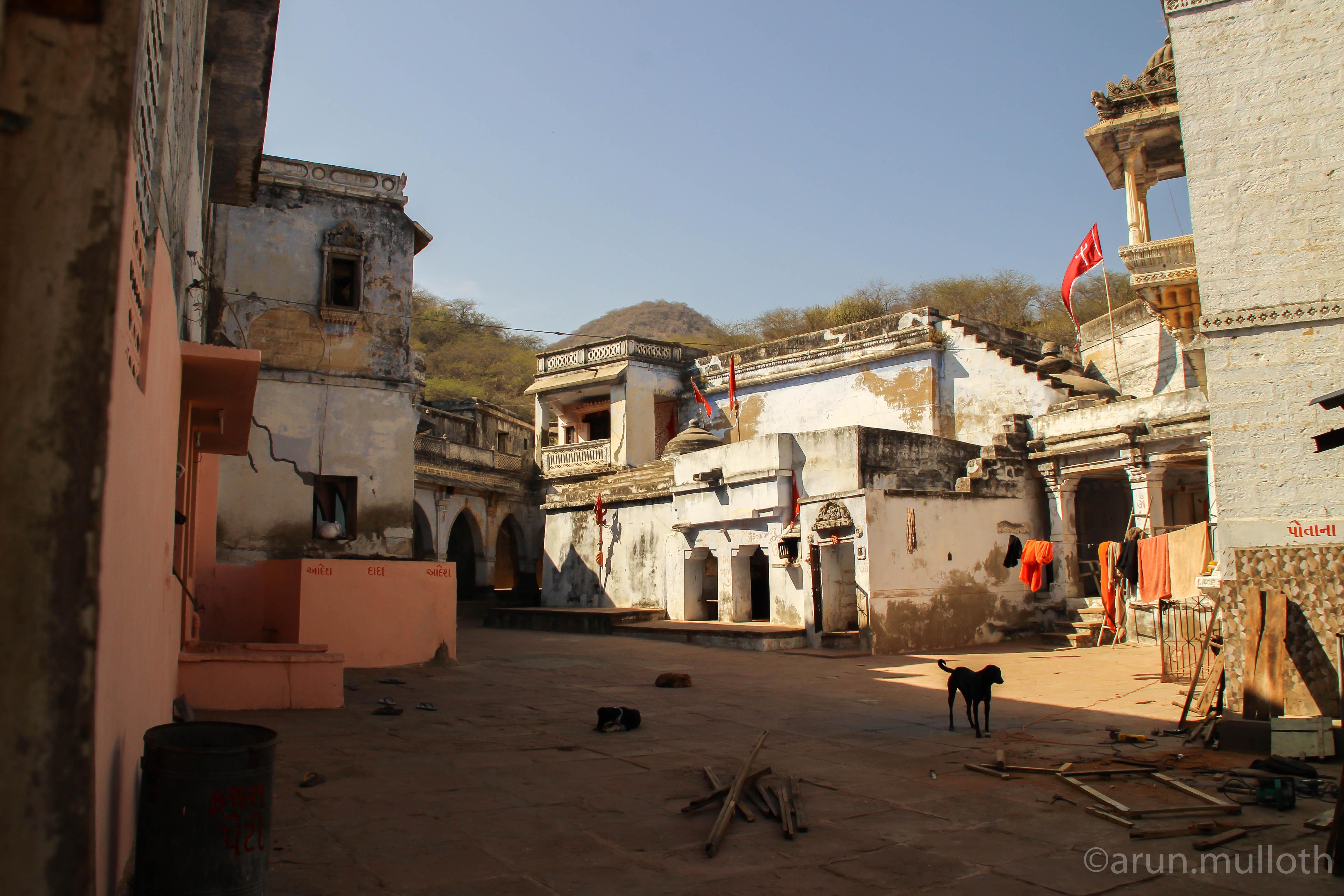Than monastery courtyard, Than Jagir
