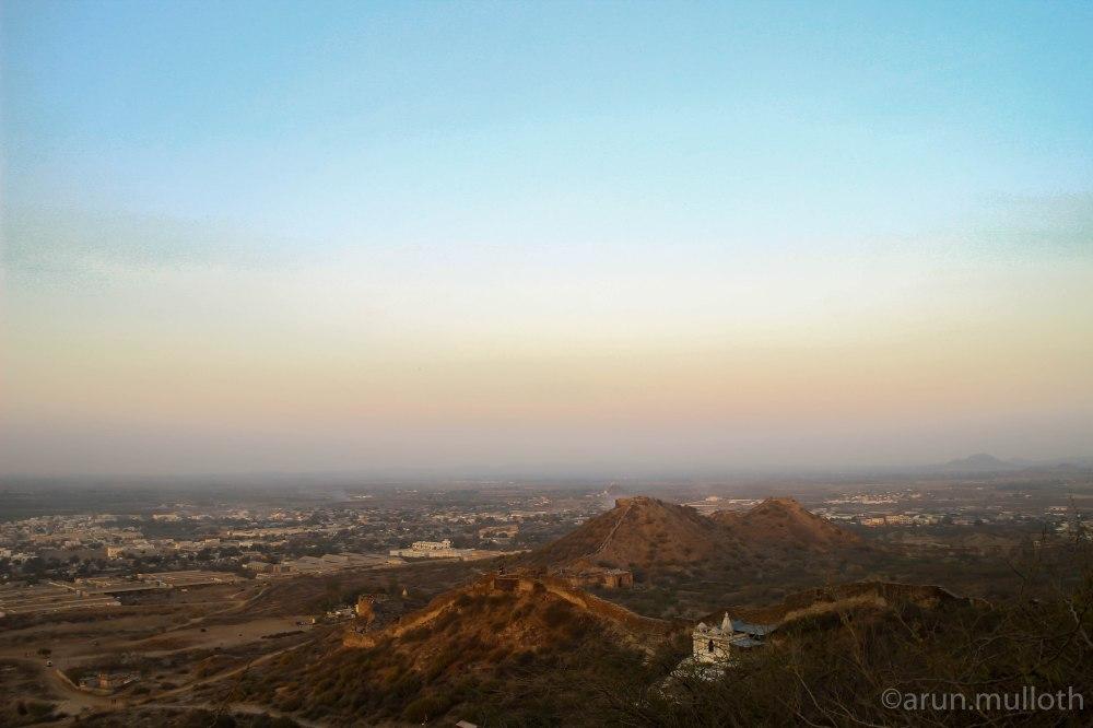 View from Bhujiyo Fort