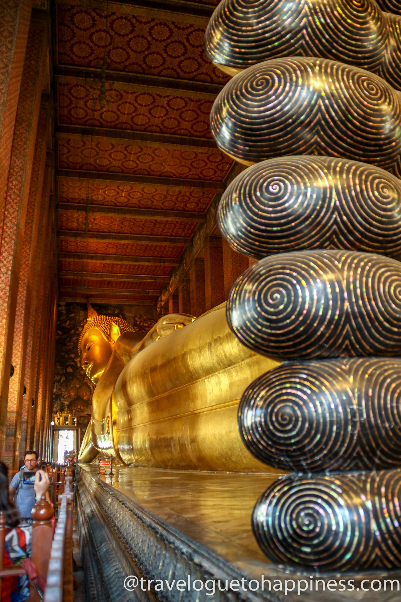 Temple of Reclining Buddha, Wat Pho